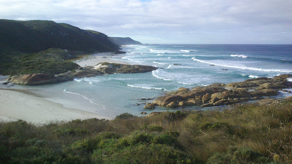 Lights Beach for swimming, fishing, dog walking, surfing