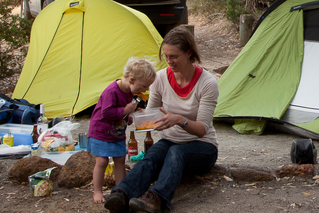 Kids love camping