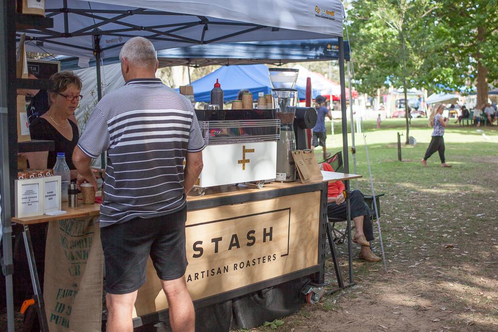Stash Coffee are regulars at the Denmark Arts Market